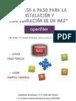 Guia de configuracion de un NAS con Openfiler