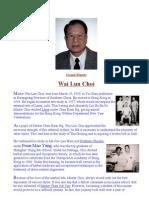 Grand Master Wai Lun Choi