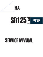 Yamaha SR125_Service Manual 3MW-AE1 1997 (English)