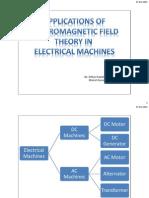 EMFT in electrical machine