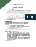 POM Presentation Report