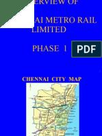 Overview of Chennai Metro