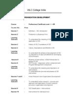 Business PCL I HR Organization Development