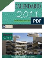 Práctica 5 AV - Calendario 2011F