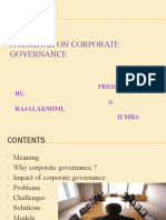 Corp Govern
