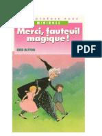 Blyton Enid WCA3 Merci Fauteuil Magique