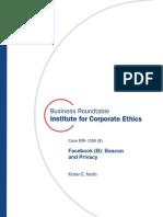 Facebook B Business-ethics Case Bri-1006b