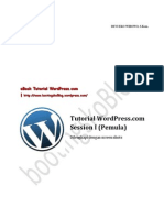 Tutorial WordPress.com Session I (Pemula)