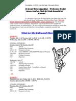 2011 Moe Cub Scout Day Camp Registration Instructions & Camp Details