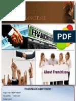 Franchisee Agreement - Team Target