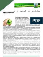 Boletin Phitonat_Lo ecológico y natural en productos fitosanitarios