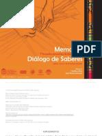 Memorias Dialogo de Saberes Libro 2009 - Cperez Jaechverri