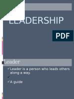Leadership Final Show