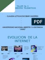 Linea de Tiempo H. TELEMATICAS 3