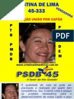 Cristina LIma - Vereadora por Capão  da Canoa em 2008