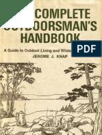 The Complete Outdoorsman Handbook