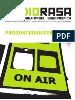 RADIO RASA (Produktdokumentation)