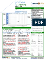 Project Quick Reference Microsoft Project 2007 Cheat Sheet