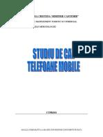Telefoane Mobile - Studiu de Caz