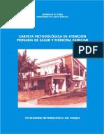 Carpeta Metodológica de APS y Medicina Familiar