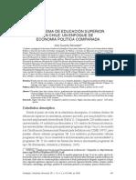 Sistema Educacion Superior en Chile JJ Brunner