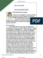 Benjamin Tribe of Israel