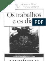 Hesiodo - O Trabalho e Os Dias - Mito de Prometeu e Pandora [PDF]