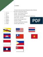 Daftar Presiden Anggota Asean