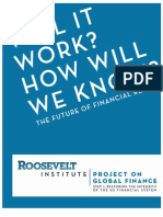 Will It Work How Will We Know - Roosevelt Institute (2009)