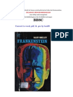 Frankenstein Indonesian) - Marry Shelley