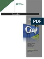 """Google Inc . """"Haciendo la Información Mundial Útil y Accesible"""""""