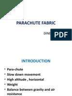 Parachute Fabric Dine Sh