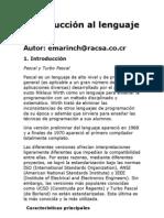 Introducción al lenguaje Pascal
