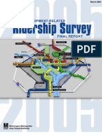 WMATA 2005 Development-Related Ridership Survey