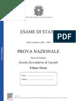Prova_nazionale_2009_italiano