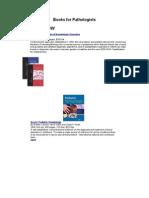 Books for Pathologists (Hema)