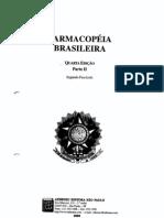 Farmacopéia Brasileira ParteII Fascículo 2
