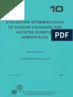 carcinogenesis quimica