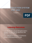 Crop Production System-Lecture 1
