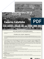 Etapa 1 - Sub Program A 2010 - Caderno CATETINHO