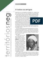 Territórios Negros  - Informativo de apoio às Comunidades Negras Rurais do Rio de Janeiro