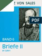 Briefe II - Franz von Sales