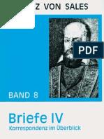 Briefe IV - Franz von Sales