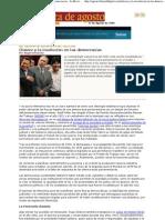Ángel Fernández - Chávez y la involución en las democracias - La Revista de Agosto