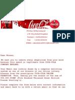 Coca Cola Award Center