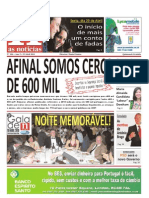 Jornal as Noticias Publicação No:104 de 22 de Abril de 2011