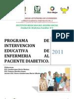 Programa Educativo Para Personas Con Diabetes Mellitus Tipo 2