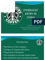Marketing Strategies Starbucks In China Strategic