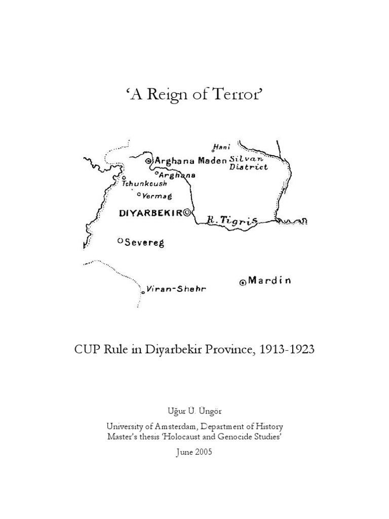 Armenian Genocide : A Reign of Terror | Ottoman Empire | Turkey