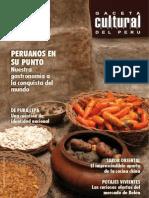 Gaceta Cultural del Perú N°32; Instituto Nacional de Cultura Abril 2008